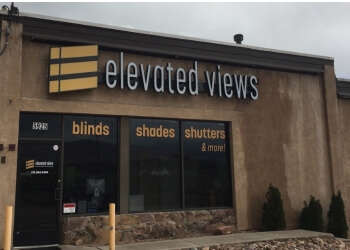 Colorado Springs window treatment store Elevated Views