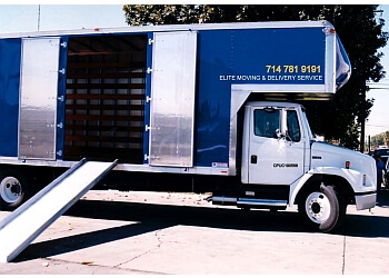 Huntington Beach moving company Elite Moving & Delivery