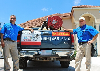 Brownsville pest control company Elite Pro