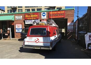 Boston car repair shop Ell-Bern service & tire inc.
