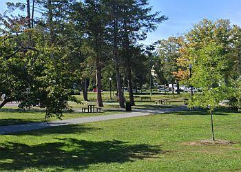 Worcester public park Elm Park Center