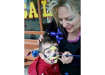 Wichita face painting Embellished Fun Face Painting
