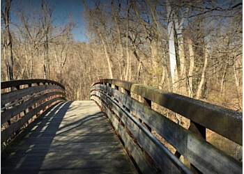 St Louis hiking trail Emmenegger Nature Park Trail