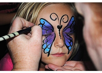 Salinas face painting Enchanted Brushstrokes