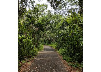 Miami hiking trail Enchanted Forest Elaine Gordon Park Trail