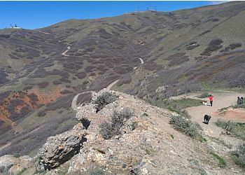 Salt Lake City hiking trail Ensign Peak Park