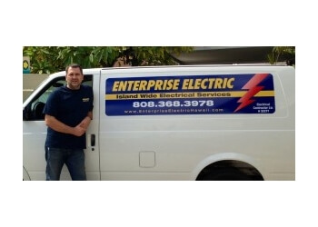 Honolulu electrician Enterprise Electric