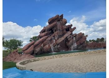Brownsville public park Ernesto Gamez Cascade Park