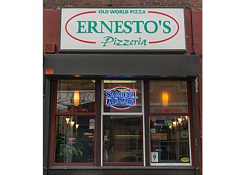 Boston pizza place Ernesto's pizzeria