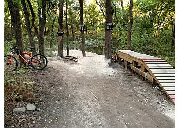McKinney hiking trail Erwin Park