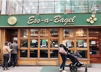 New York bagel shop Ess-a-Bagel