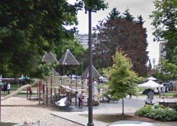 Vancouver public park Esther Short Park