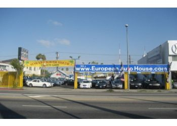 Los Angeles used car dealer European Auto House