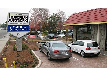 Sunnyvale car repair shop European Auto Works