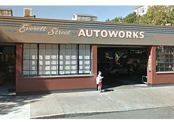 Portland car repair shop Everett street autoworks