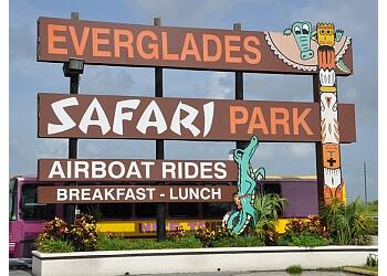 Miami amusement park Everglades Safari Park