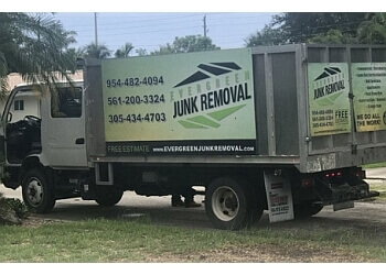 Fort Lauderdale junk removal Evergreen Junk Removal