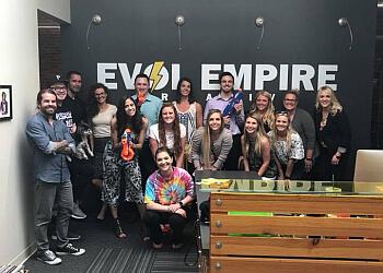 Lincoln web designer Evol Empire Creative