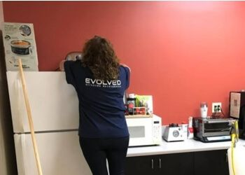 Irvine commercial cleaning service Evolved Building Maintenance