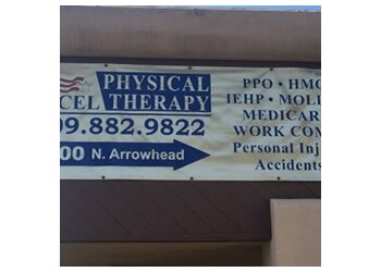 San Bernardino physical therapist Excel Physical Therapy