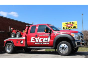 Rochester towing company Excel Service & Towing