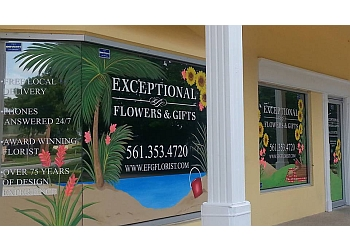 Fort Lauderdale florist Exceptional Flowers & Gifts