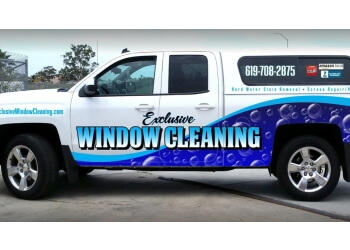 Chula Vista window cleaner  Exclusive Window Cleaning