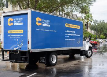 St Petersburg moving company Expedient Movers