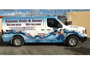 Hollywood plumber Express Drain & Sewer Cleaning