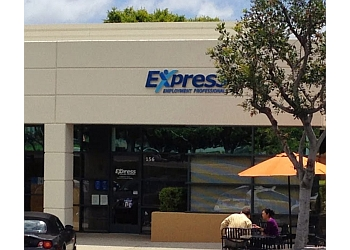 Irvine staffing agency Express Employment Professionals