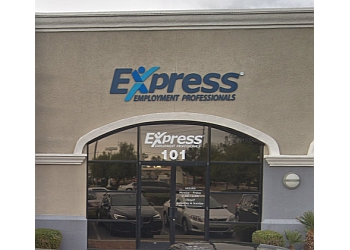 North Las Vegas staffing agency Express Employment Professionals