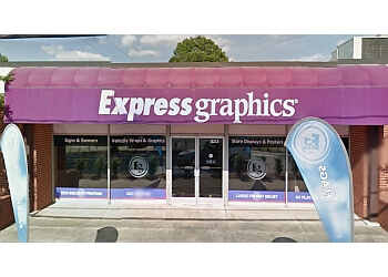 Winston Salem sign company Express Graphics