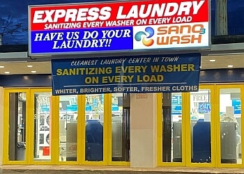 New Haven dry cleaner Express Laundry & Dry Cleaning