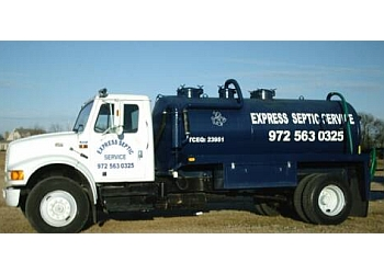 Garland septic tank service Express Septic Service, LLC