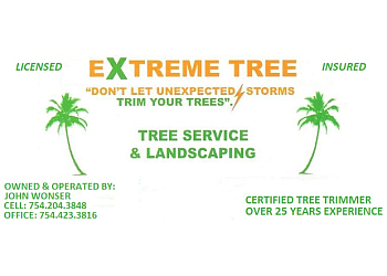 Fort Lauderdale tree service Extreme Tree Service