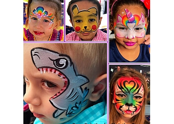 Worcester face painting Face Painting by Christine Z
