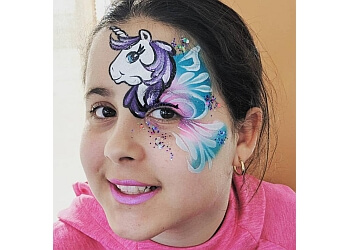 Sterling Heights face painting FACE PAINTING ROBOT
