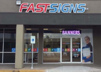 Austin sign company FASTSIGNS
