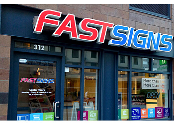 Baltimore sign company FASTSIGNS