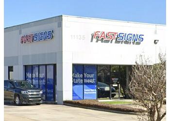 Baton Rouge sign company FASTSIGNS