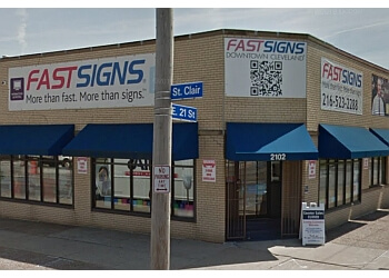 Cleveland sign company FASTSIGNS
