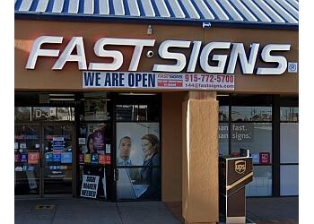 El Paso sign company FASTSIGNS