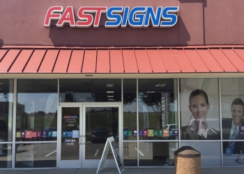 Garland sign company FASTSIGNS