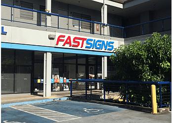 Honolulu sign company FASTSIGNS