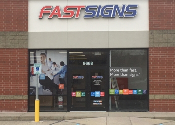 Indianapolis sign company FASTSIGNS