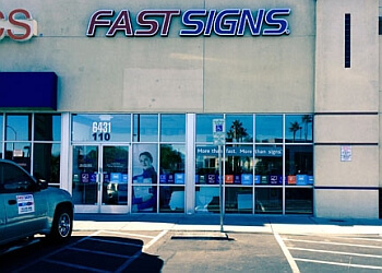 Las Vegas sign company FASTSIGNS
