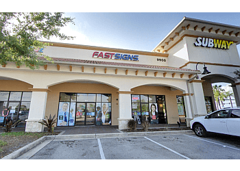 Orlando sign company FASTSIGNS