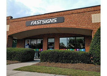 Raleigh sign company FASTSIGNS