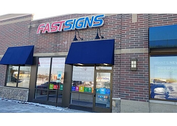 Rockford sign company FASTSIGNS