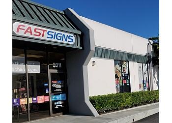 Santa Ana sign company  FASTSIGNS